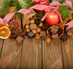 Christmas ingredients