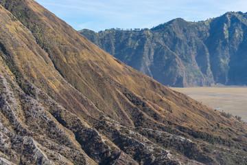 Texture of Batok mountain