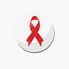 red ribbon, aids day awareness ,December 1st