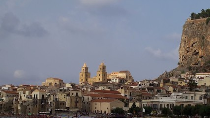 Types of Cefalu (Cefalù) city. Sicily