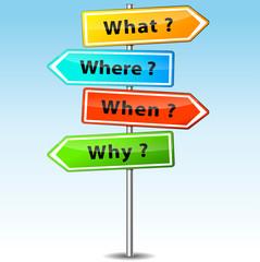 Vector questions arrows