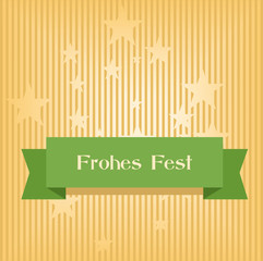 Karte Frohes Fest