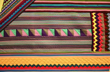 Fabric texture, cloth background Thai Style