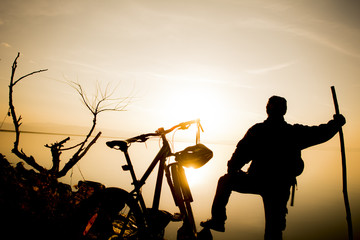 bisikletçi gezgin