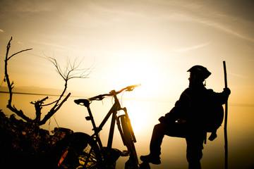bisiklet gezisi ile gündoğumu heyecanı