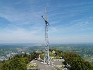 На горе Pic du Jer  в  Лурде