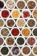 canvas print picture - Herb Tea Sampler