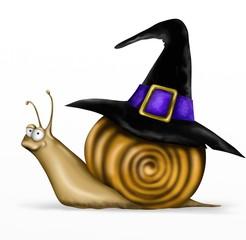 lumaca halloween