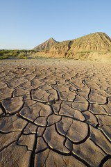 Dry mud -Desert of Bardenas Reales - Spain