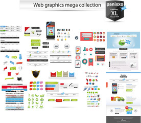 Huge web graphic collection