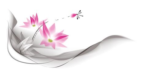 water color lotus