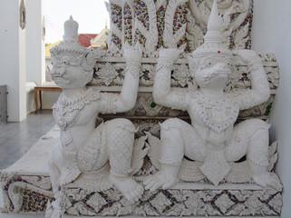 Traditional Thai Garuda sculpture