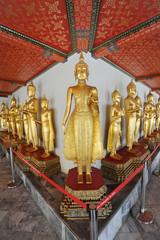 Buddha Image at Wat Arunratchawararam Bangkok