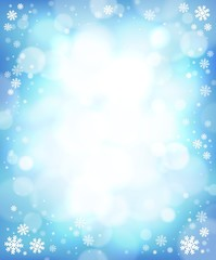 Winter theme background 4