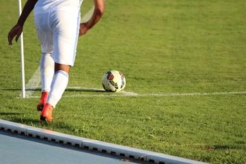 ' Corner ' au football