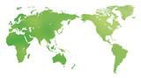 Fototapety グローバルイメージ・地球 ・水彩