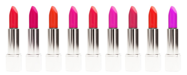 Various lipsticks