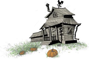 halloween house color