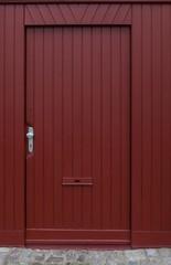 Rote Türe