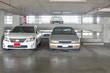 a few car at park car