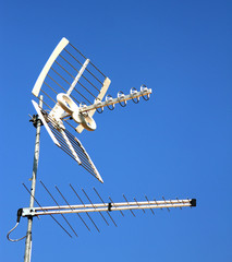 TV aerial for reception of TV channels