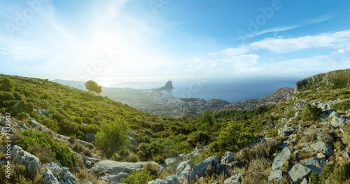 Mountain and sea landscape - 71321617