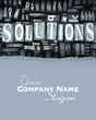 Solutions close-up customize
