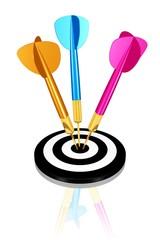 Erfolg,Treffer, Übermotivation
