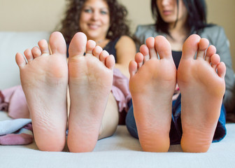 Funny foot fingers