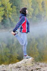 спорт у озера