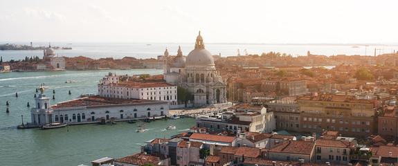 Panorama miasta Wenecja,Włochy.