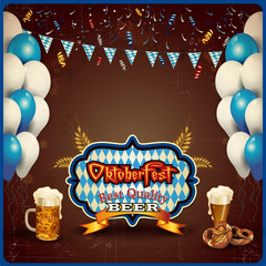 Brown Oktoberfest ticket