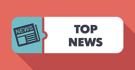 Top News on Scarlet in Flat Design.