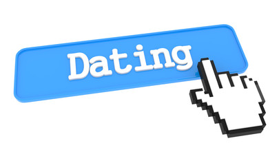 Dating Button with Hand Cursor.