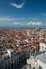 Widok na miasto Wenecja Włochy.