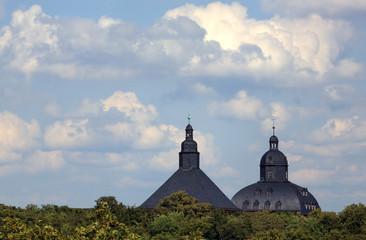Gotha - Türme von Schloss Friedenstein