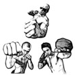 fighters illustrations
