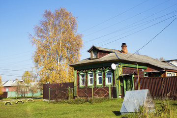 Домик в деревне.