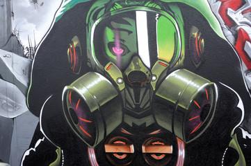 graffiti masque