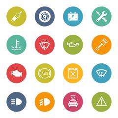 Service Station Icon Iconset