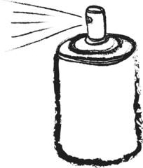 doodle blank spray