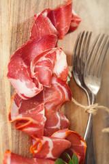 Cured Meat and vintage forks