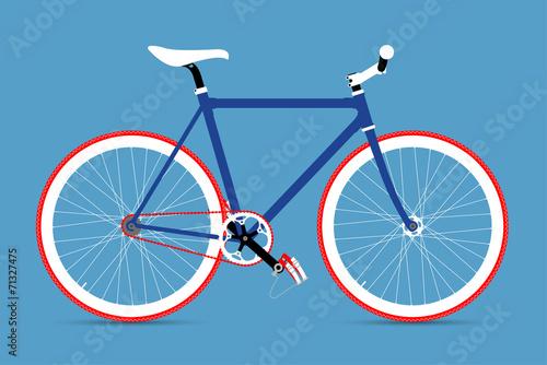 Fototapeta FIXED GEAR BICYCLE