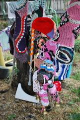 Crochet patterns.