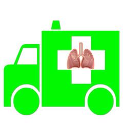 Ambulanza e polmoni