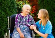 Caring for the Elderly in Wheelchair - 71329253