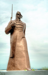 Monument to Red Army, Stavropol. Russia