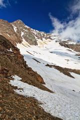 Tavela peak in Stelvio National park