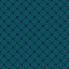 Blue Colors pinwheel Pattern. Korean traditional Pattern Design
