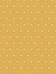 Yellow Colors Geometry Pattern. Korean traditional Pattern Desig